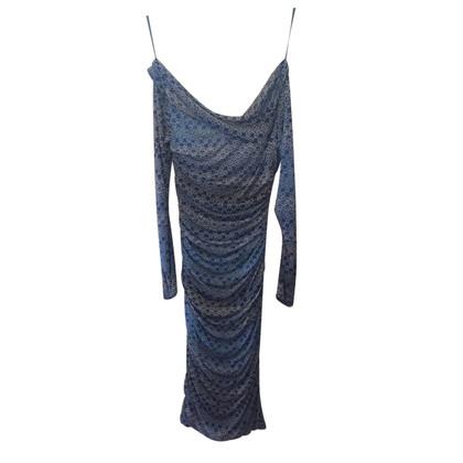 Diane von Furstenberg Vestito di seta blu