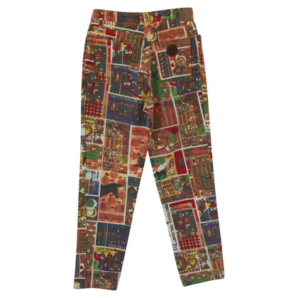 Moschino trousers with pattern