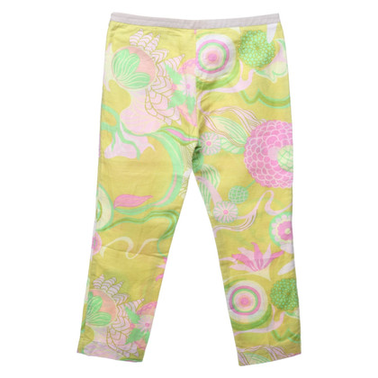 D&G Capri broek met patroon