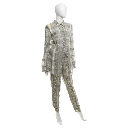 Armani Blouse & trousers with pattern
