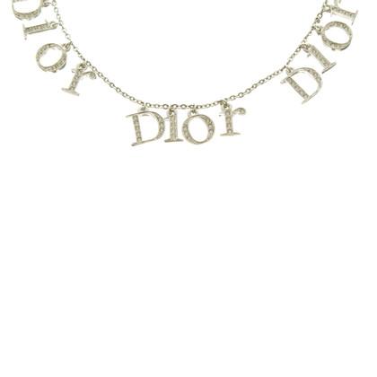 Christian Dior Catena in tono argento