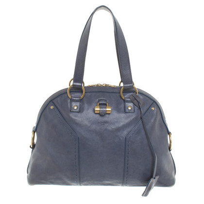 Yves Saint Laurent « Muse Bag » en bleu