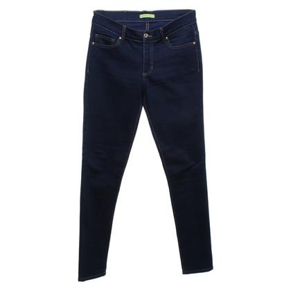 Versace Blauwe spijkerbroek