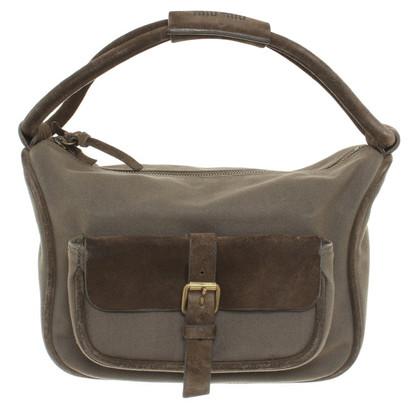 Miu Miu Shoulder bag in olive green