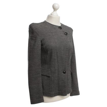 Armani Collezioni melange blazer