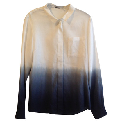 Elie Tahari Blouse with dip-dye effect