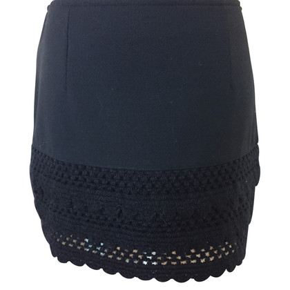 Moschino Mini skirt with lace