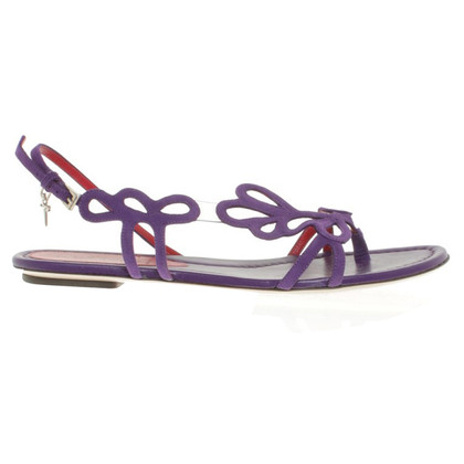 Cesare Paciotti Sandals in violet