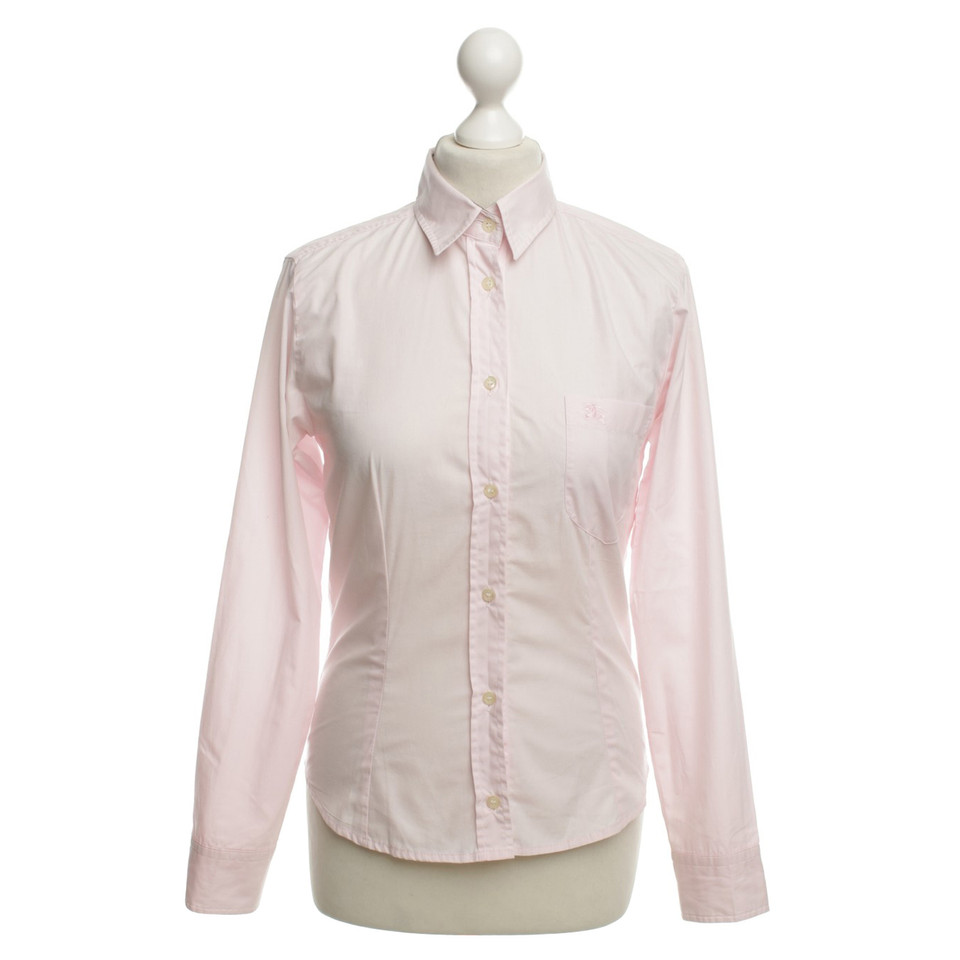 Burberry Shirt In Pink Buy Second Hand Burberry Shirt In