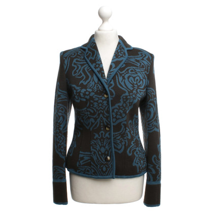 Wolford Knitted blazer with floral pattern