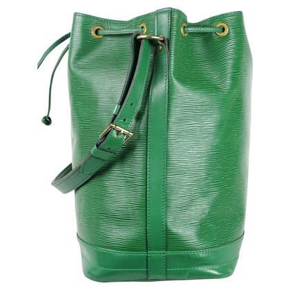 """Louis Vuitton """"Grand Noé pelle Epi"""" in verde"""