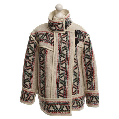 Isabel Marant Oversized jacket with pattern