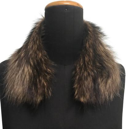 Dolce & Gabbana collo di pelliccia di volpe