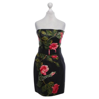 Blumarine Kleid mit floralem Print