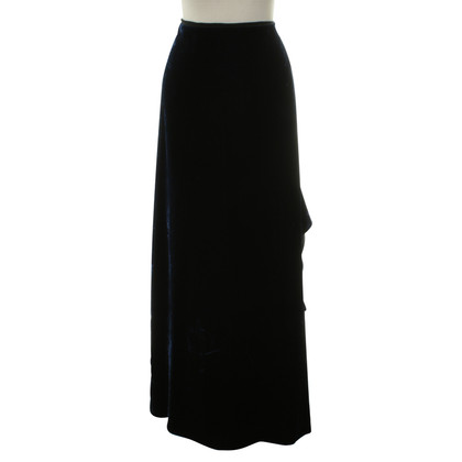 Ralph Lauren Velvet skirt blue