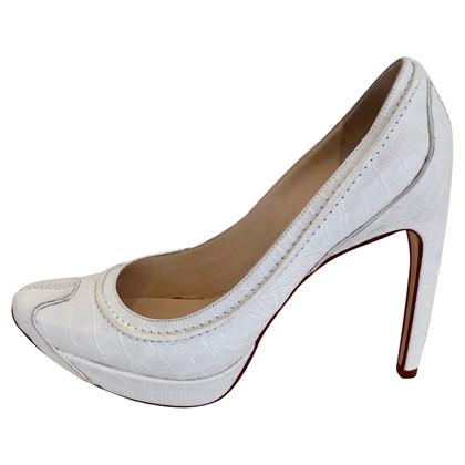 Céline Pumps in Weiß