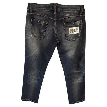 Richmond 7/8 jeans bleu foncé