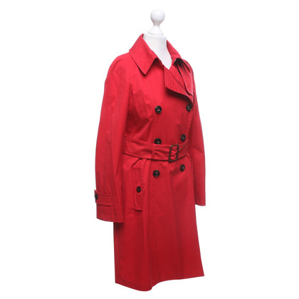 Max Mara Trench coat in red