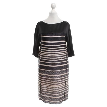 Strenesse zijden jurk Stripe