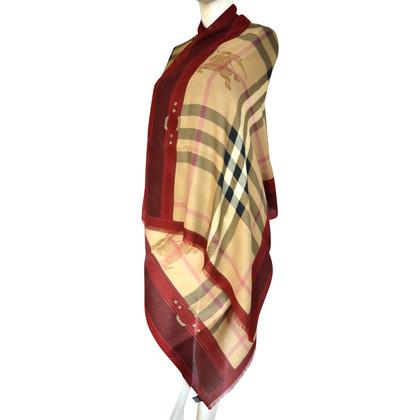 Burberry Sciarpa con cashmere