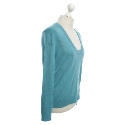Zadig & Voltaire wool jumper in turquoise
