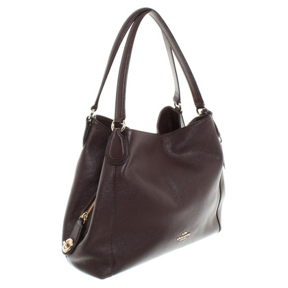 Coach Handbag in Bordeaux