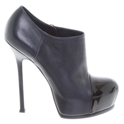 Yves Saint Laurent Leather pumps in blue / black