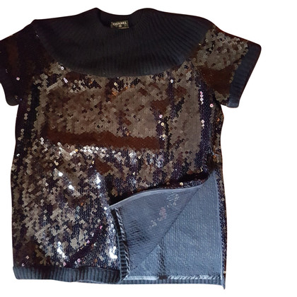 Chanel Cashmere sweater met pailletten