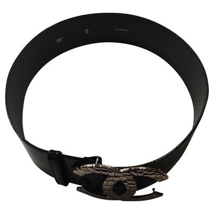 Chanel Cintura in vernice nera