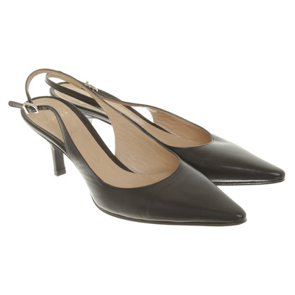 Unützer Slingbacks in black