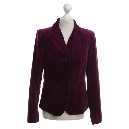 Blonde No8 Velvet blazer in Violet