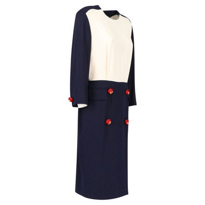 Ferre Dress in blue / white