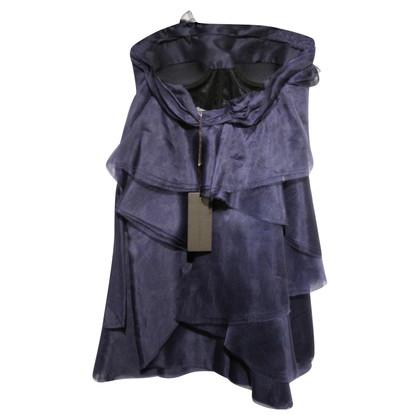 Ermanno Scervino Korte zijden jurk