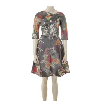Talbot Runhof Kleid Blumen