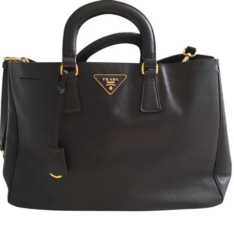 Einkaufen Prada Handtasche in Schwarz Schwarz Bilder Günstig Online Verkauf Echt KkY4nX