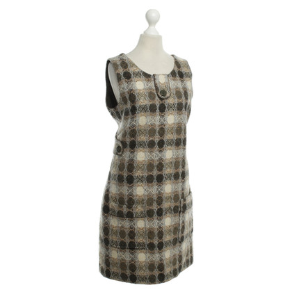 Cacharel Wool dress with pattern