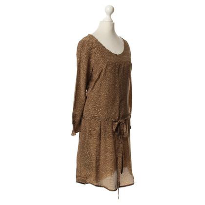 Closed Gestippelde zijden jurk