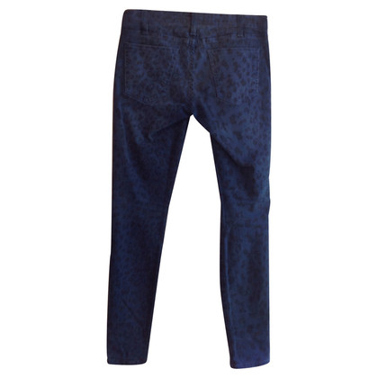Current Elliott Jeans with Leopard pattern