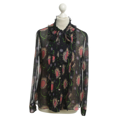 Red Valentino Blouse with patterns