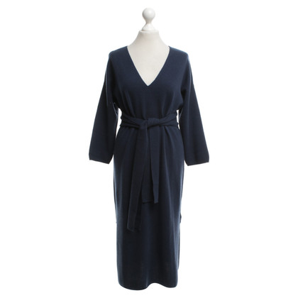 Allude Knitted dress in blue