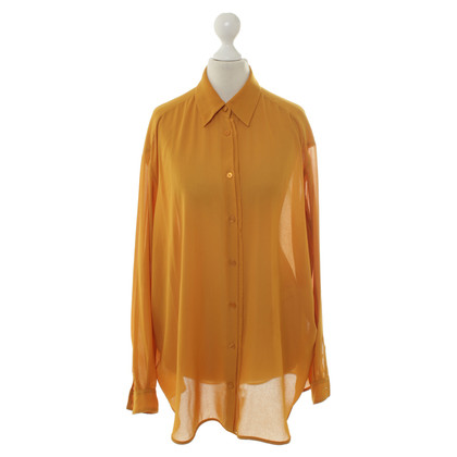 Acne Blouse in mosterd geel