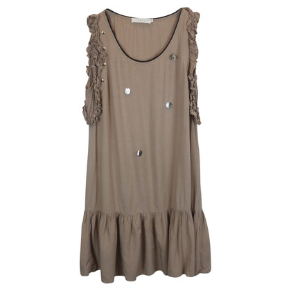 Sandro Sandro dress light brown