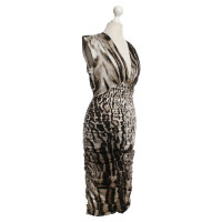 Roberto Cavalli Dress with leopard pattern