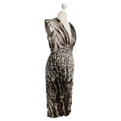 Roberto Cavalli Dress with leopard pattern
