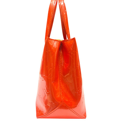 Louis Vuitton Willshire Orange Vernis Leather Bag