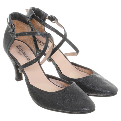 Repetto Pumps in Schwarz
