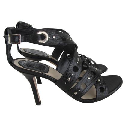 Christian Dior Sandalen in zwart