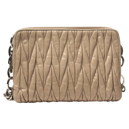 Miu Miu Clutch Gauffre Powder