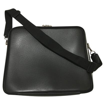 "Louis Vuitton ""Odessa Taiga leather"" in black"