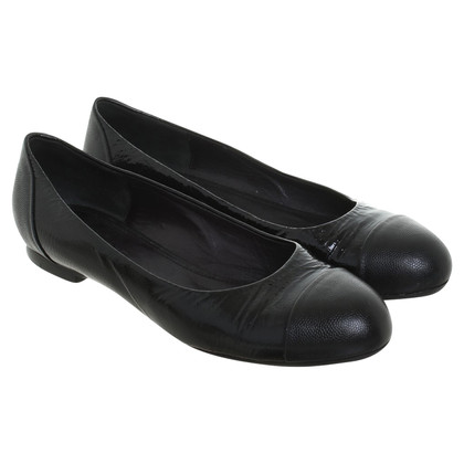 Jil Sander Ballerinas in black